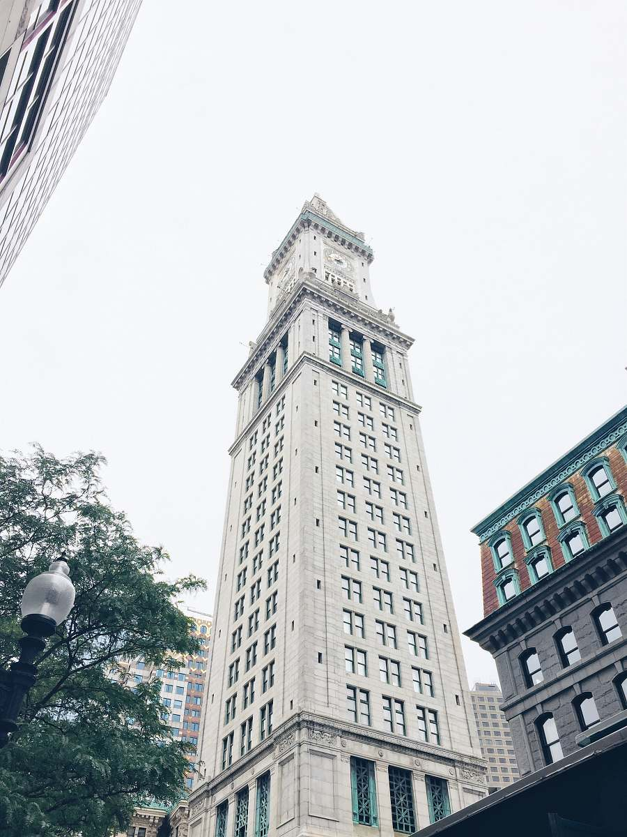 stock photos free  of architecture grey high-rise buildings tower