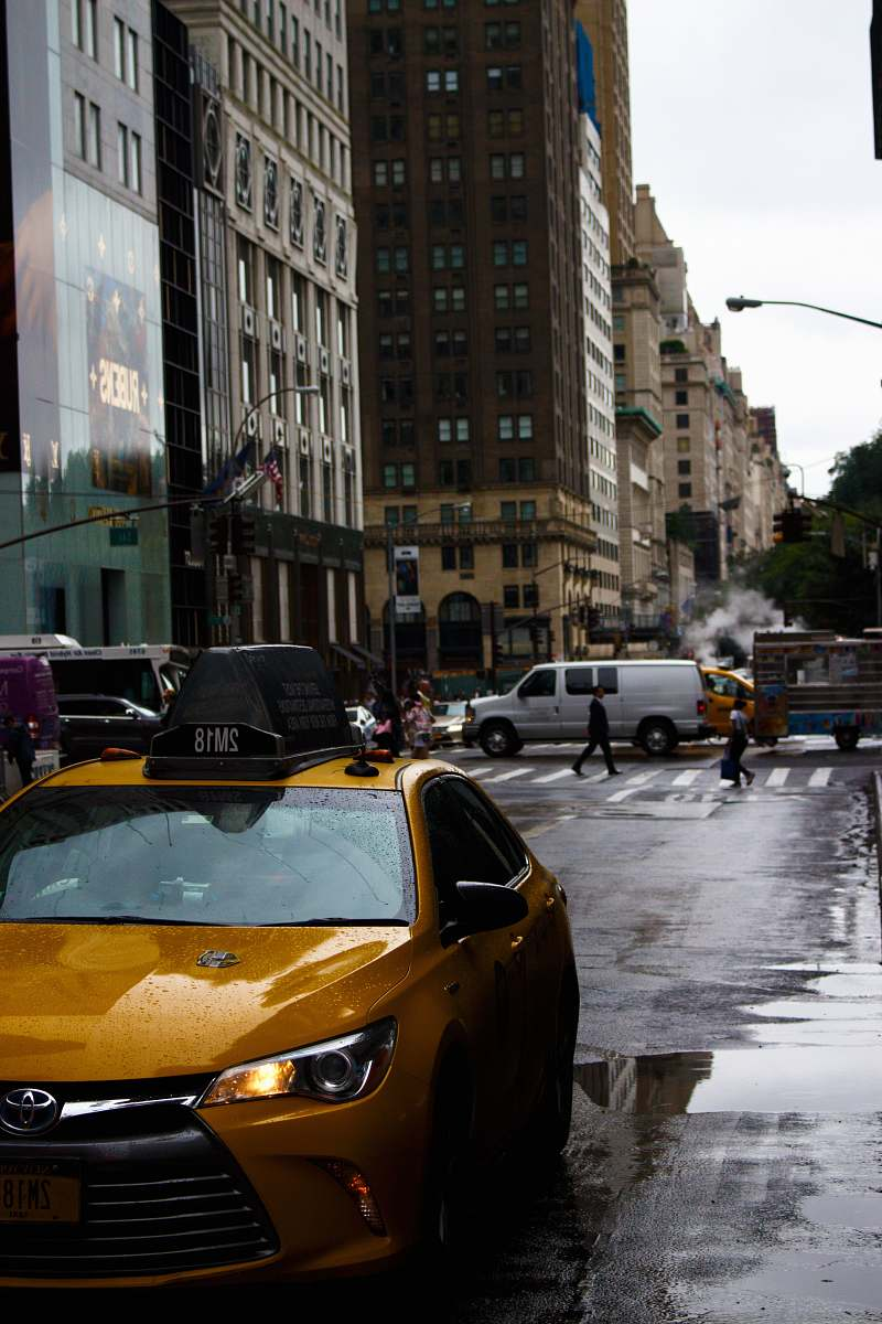 stock photos free  of taxi orange Toyota taxi on road during daytime transportation