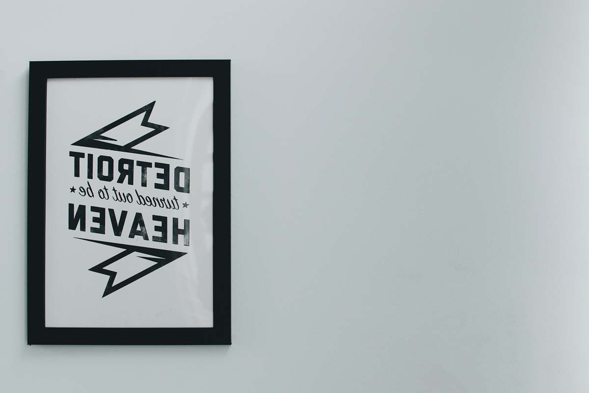 stock photos free  of frame Detroit Heaven frame logo