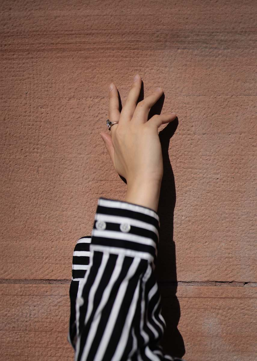 stock photos free  of human person wearing white and black striped long-sleeved shirt wrist