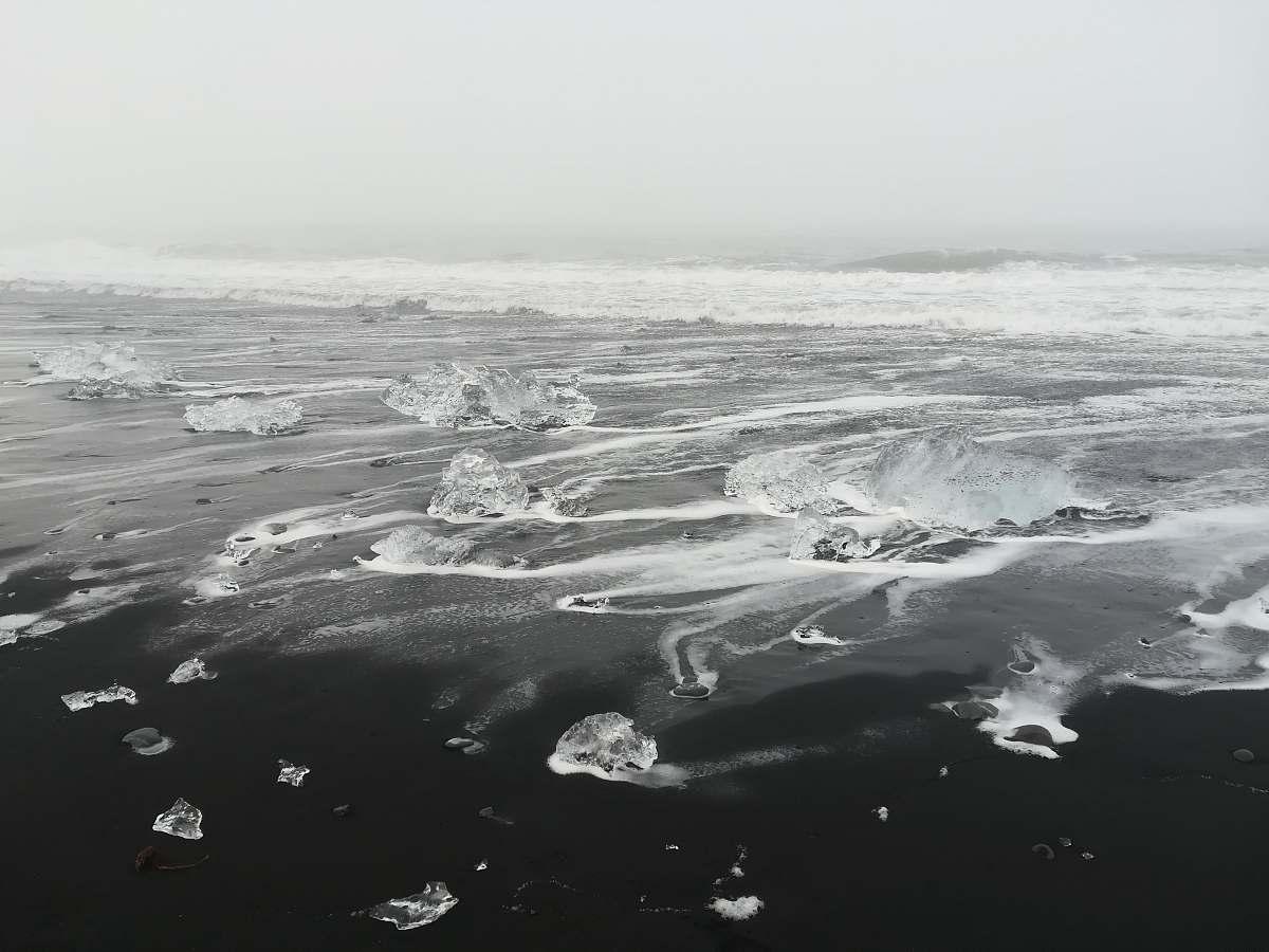 stock photos free  of nature black sea ice