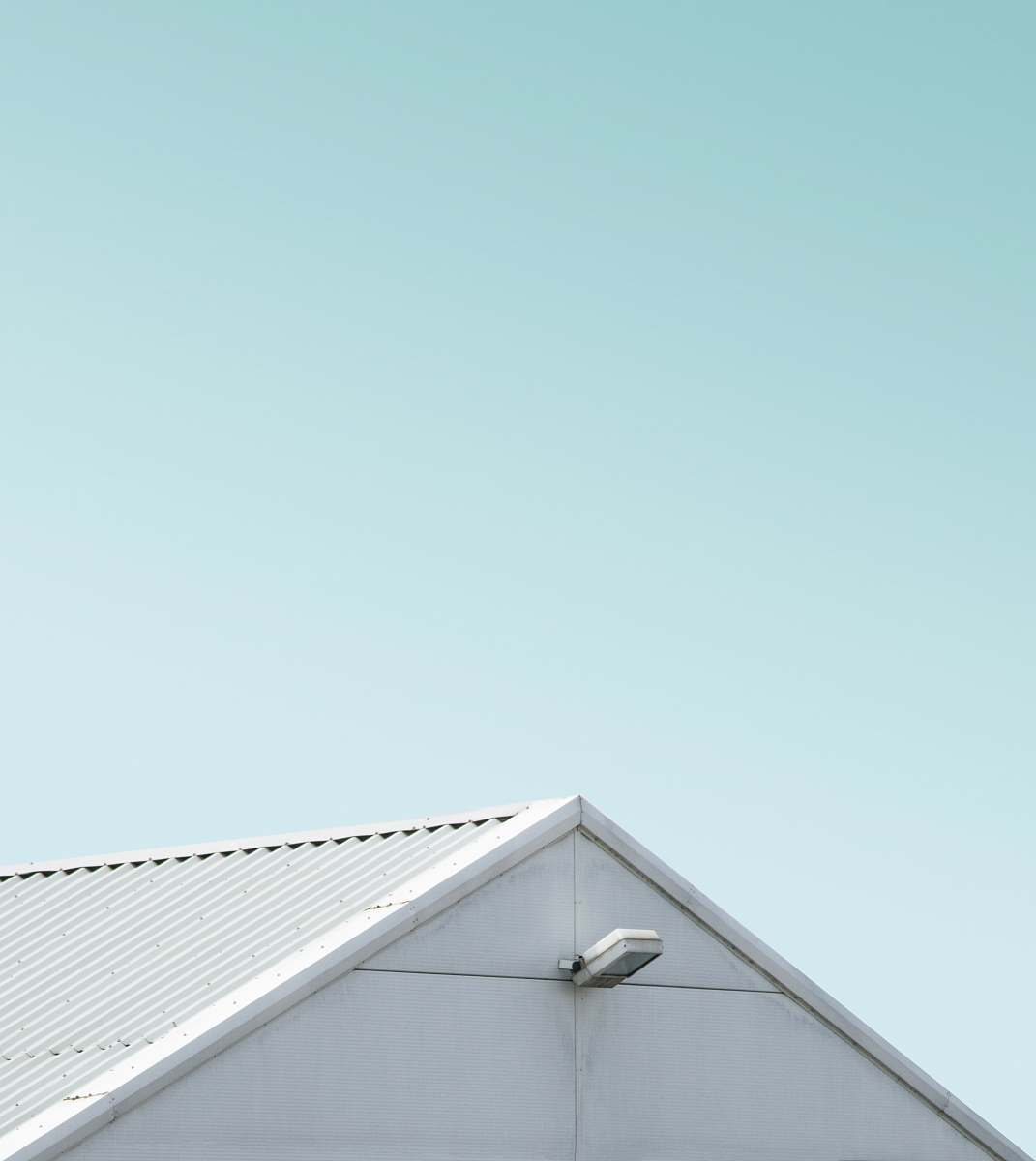stock photos free  of triangle close view of white painted shed slough
