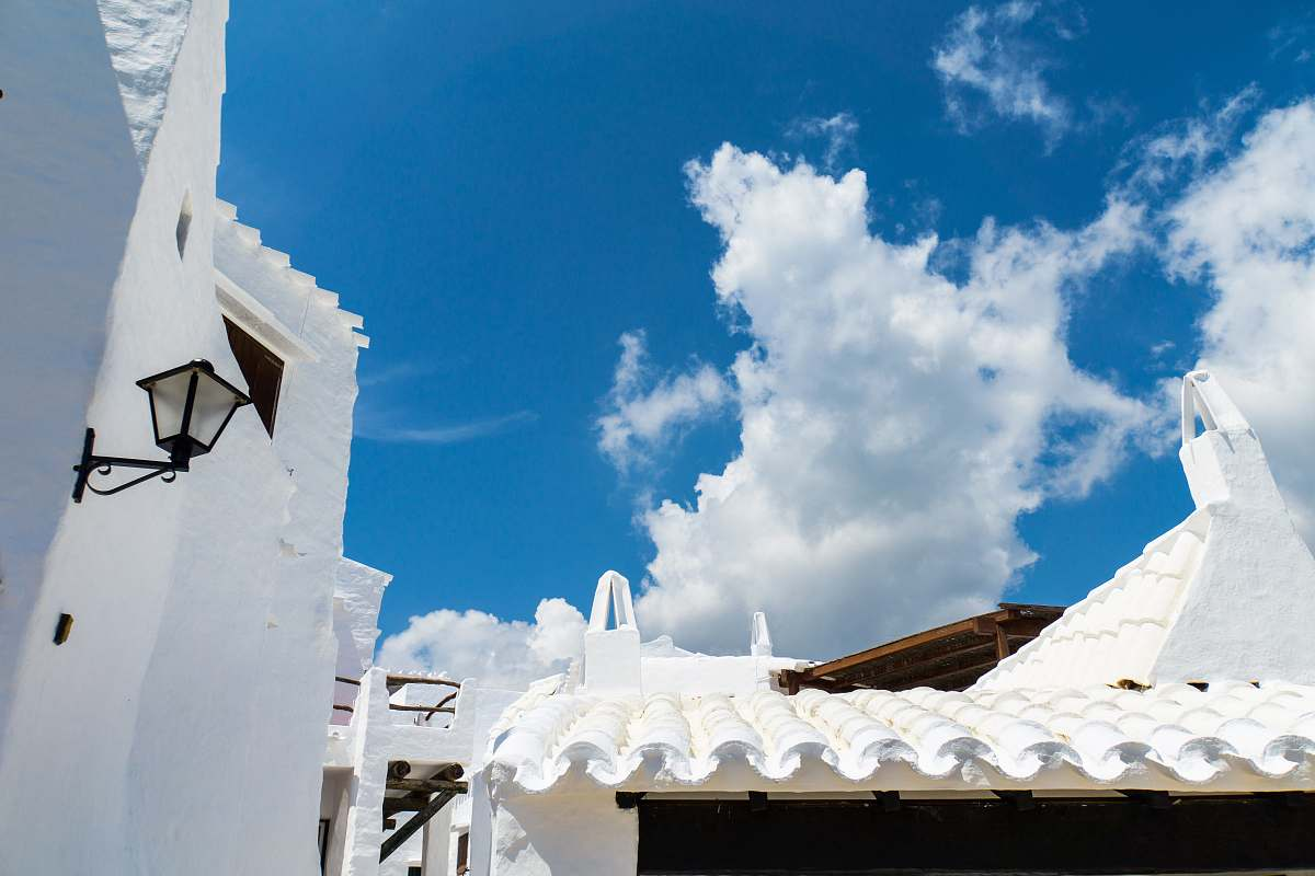stock photos free  of spain Santorini, Greece binibequer