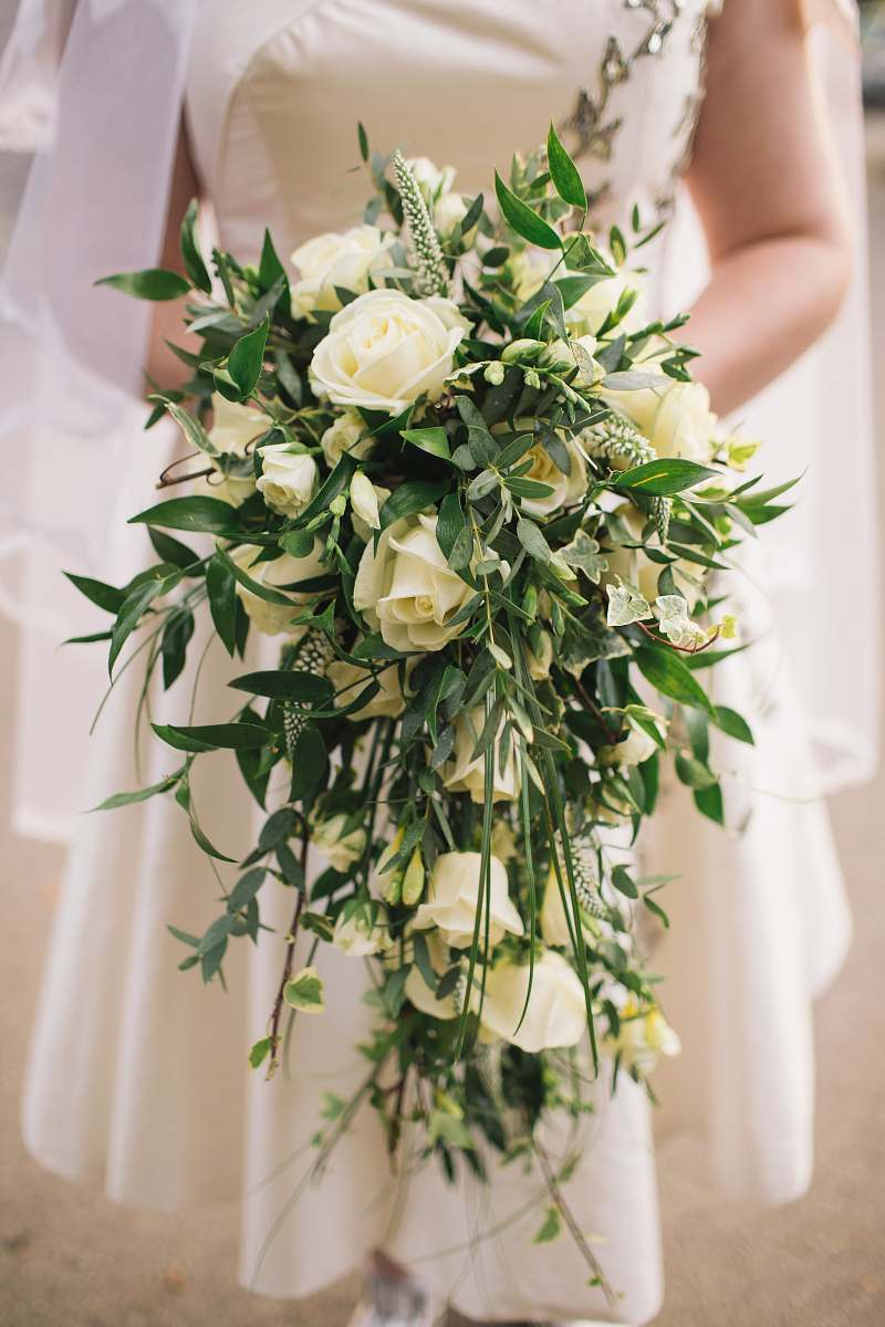 stock photos free  of rose woman holding white roses bouquet flower bouquet