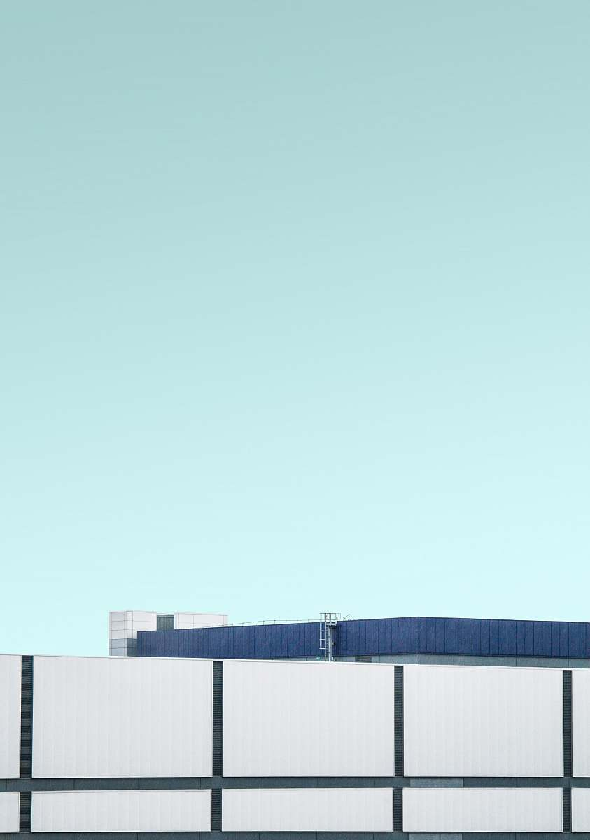 stock photos free  of building photo of blue roofed building heathrow airport