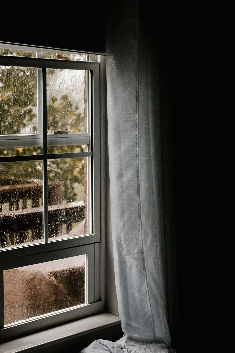 stock photos free  of rain water dew on clear glass sliding window during daytime mold