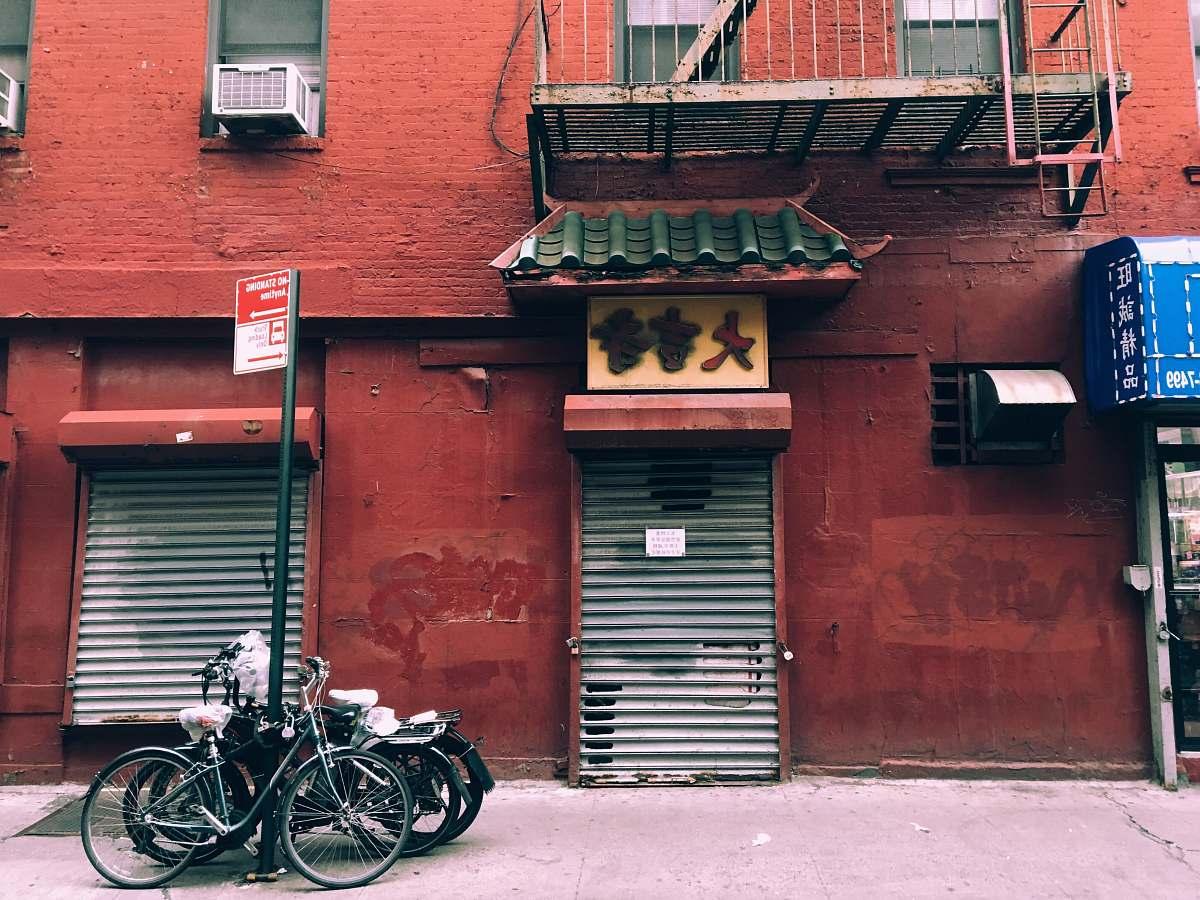 stock photos free  of bike two gray gate shutters transportation