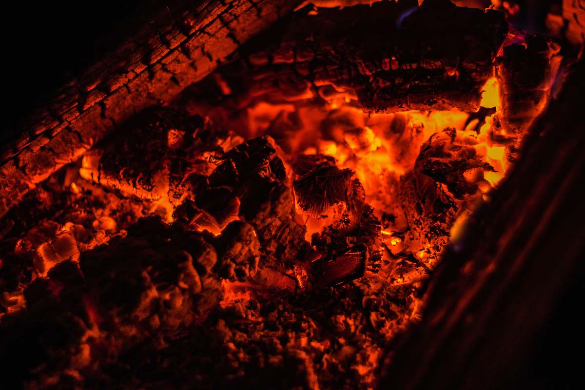 stock photos free  of outdoors closeup photo of burning coal flame