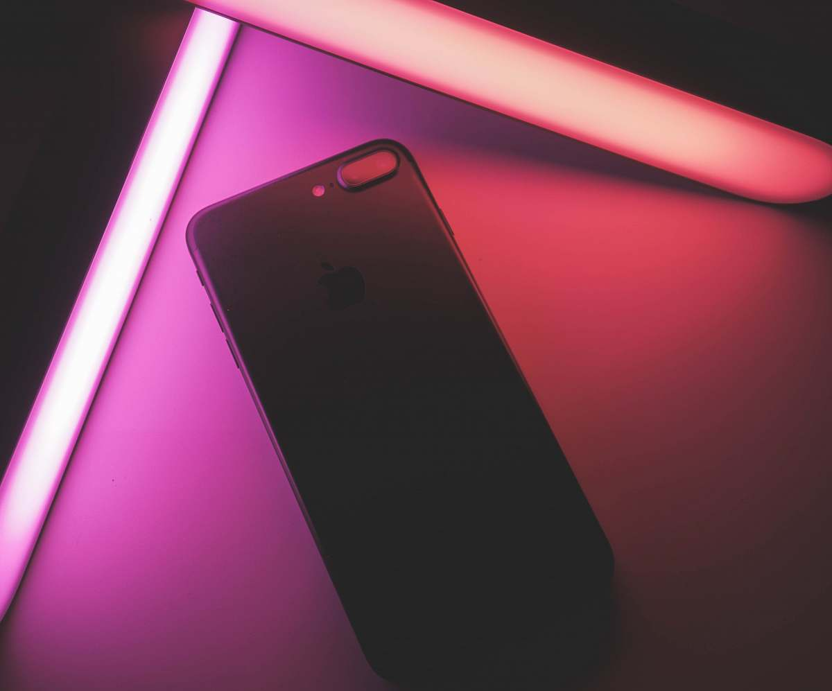 stock photos free  of electronics black iPhone 7 plus mobile phone
