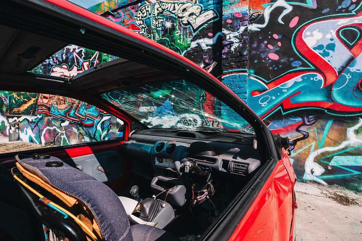 stock photos free  of graffiti wall with graffiti cockpit