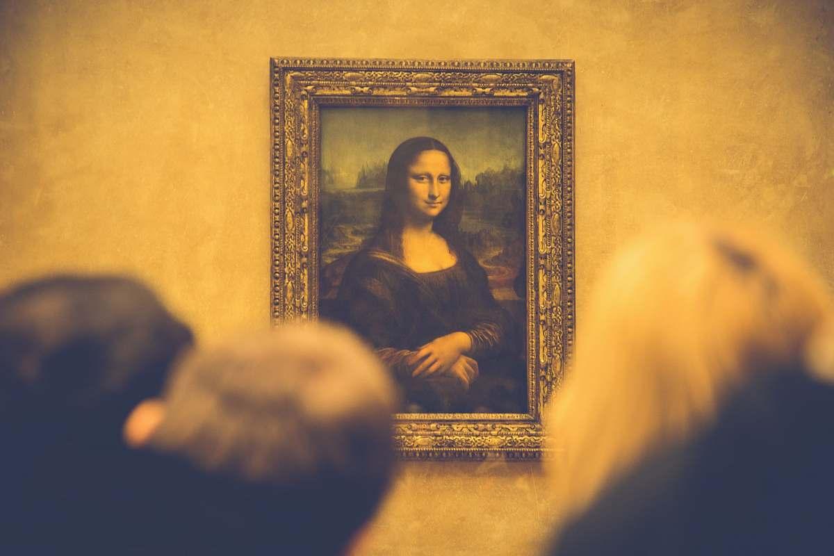 stock photos free  of art Mona Lisa painting painting