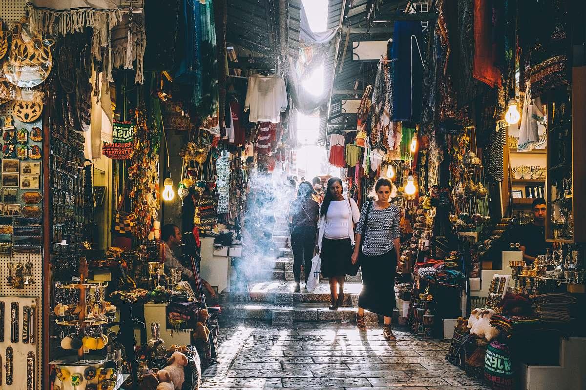 stock photos free  of person people walking on market during daytime human