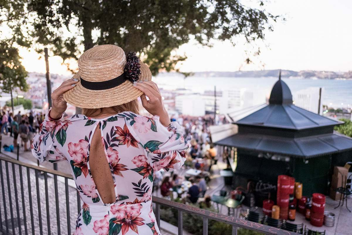 stock photos free  of person woman touching her brown sun hat during daytime human