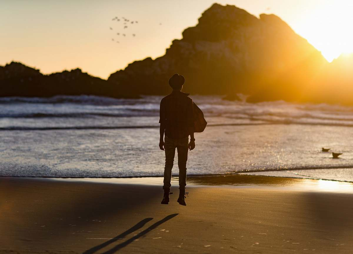 stock photos free  of people silhouette of man floating in air human