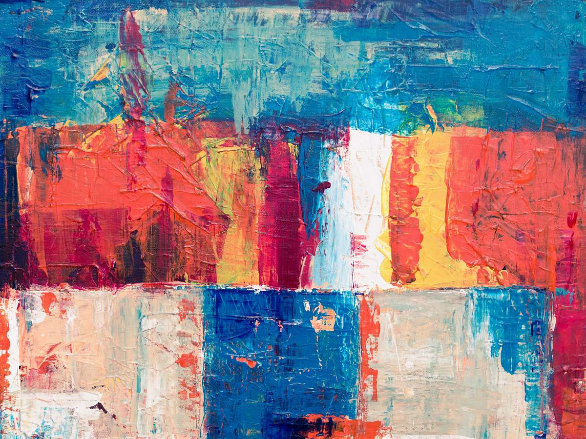 stock photos free  of art multicolored abstract painting modern art