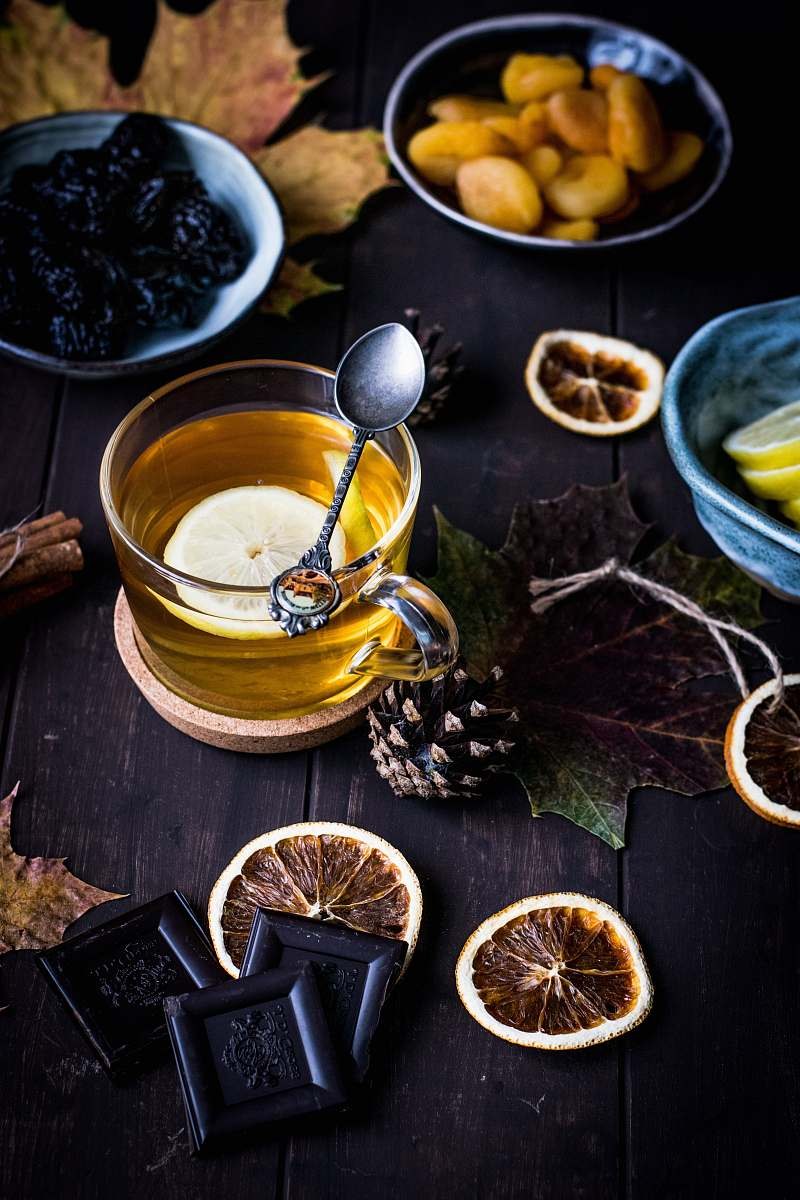 stock photos free  of tea clear glass teacup on table drink