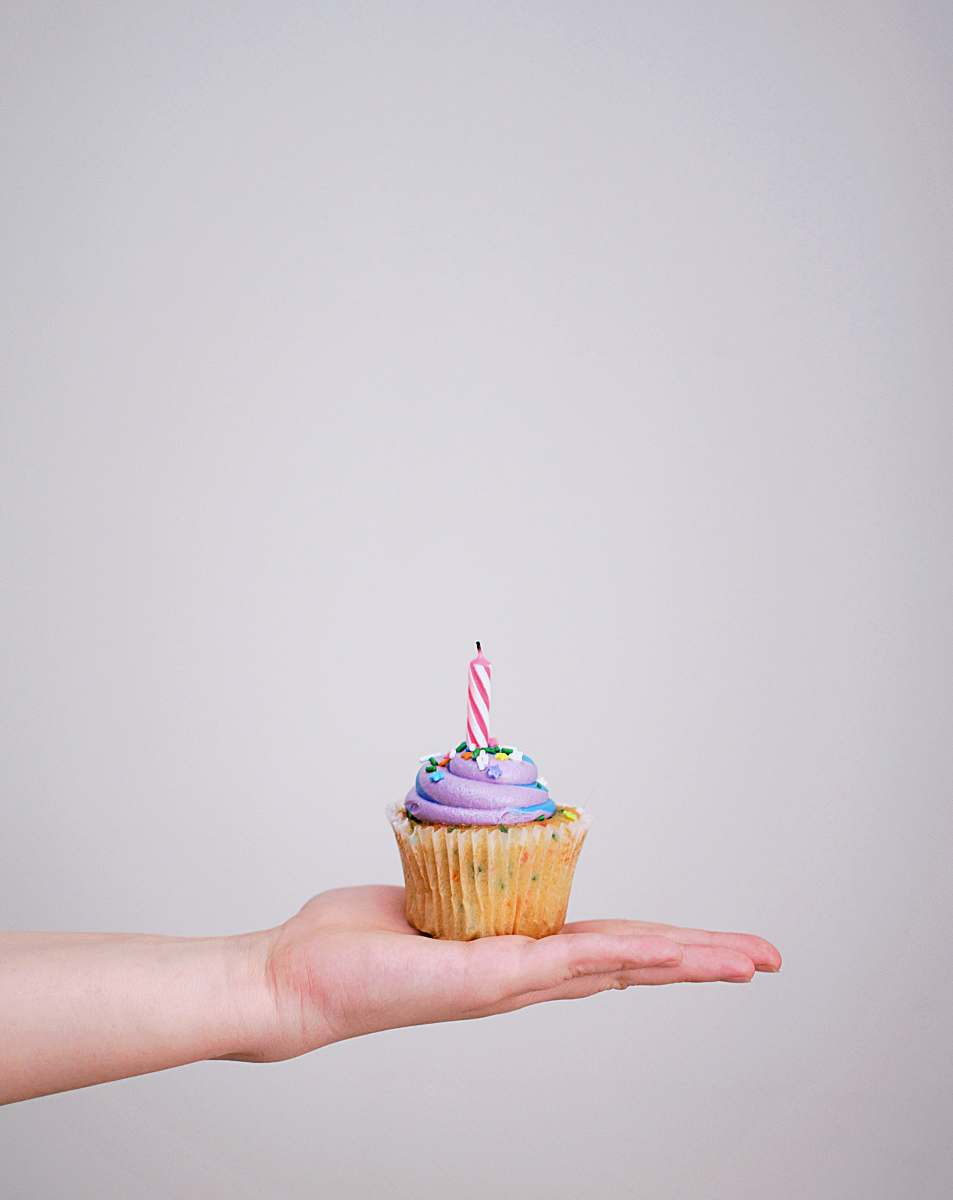 stock photos free  of cake cupcake with candle dessert