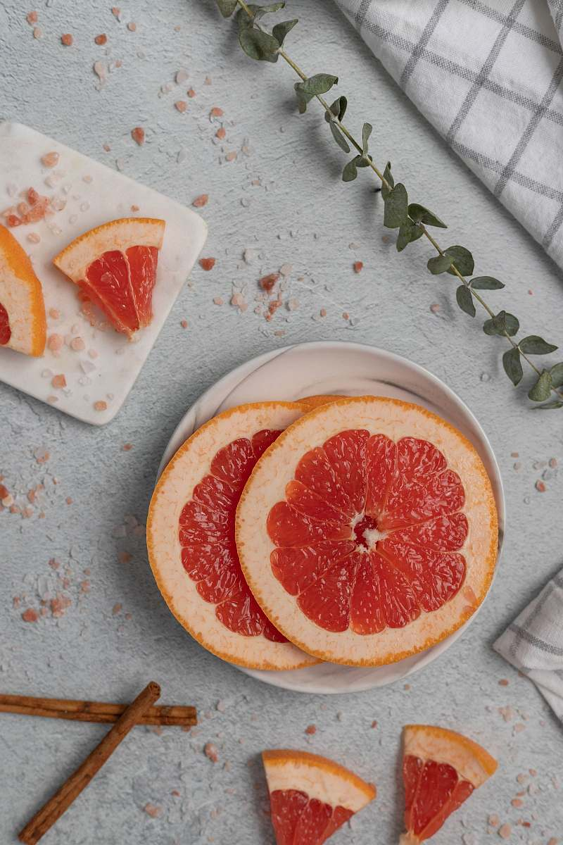 stock photos free  of grapefruit sliced grapefruits fruit