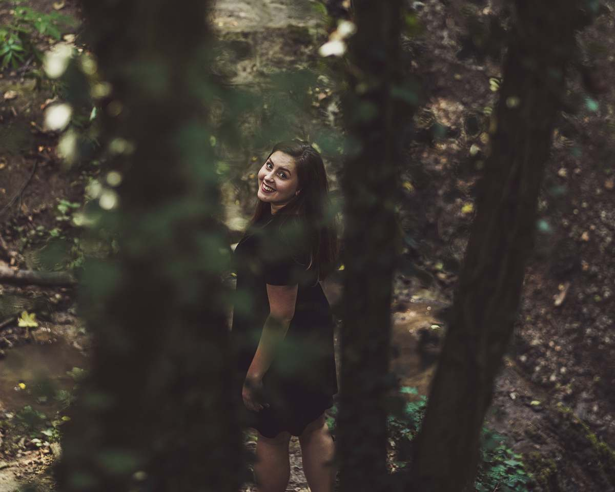 stock photos free  of people woman walking on forest while looking up person