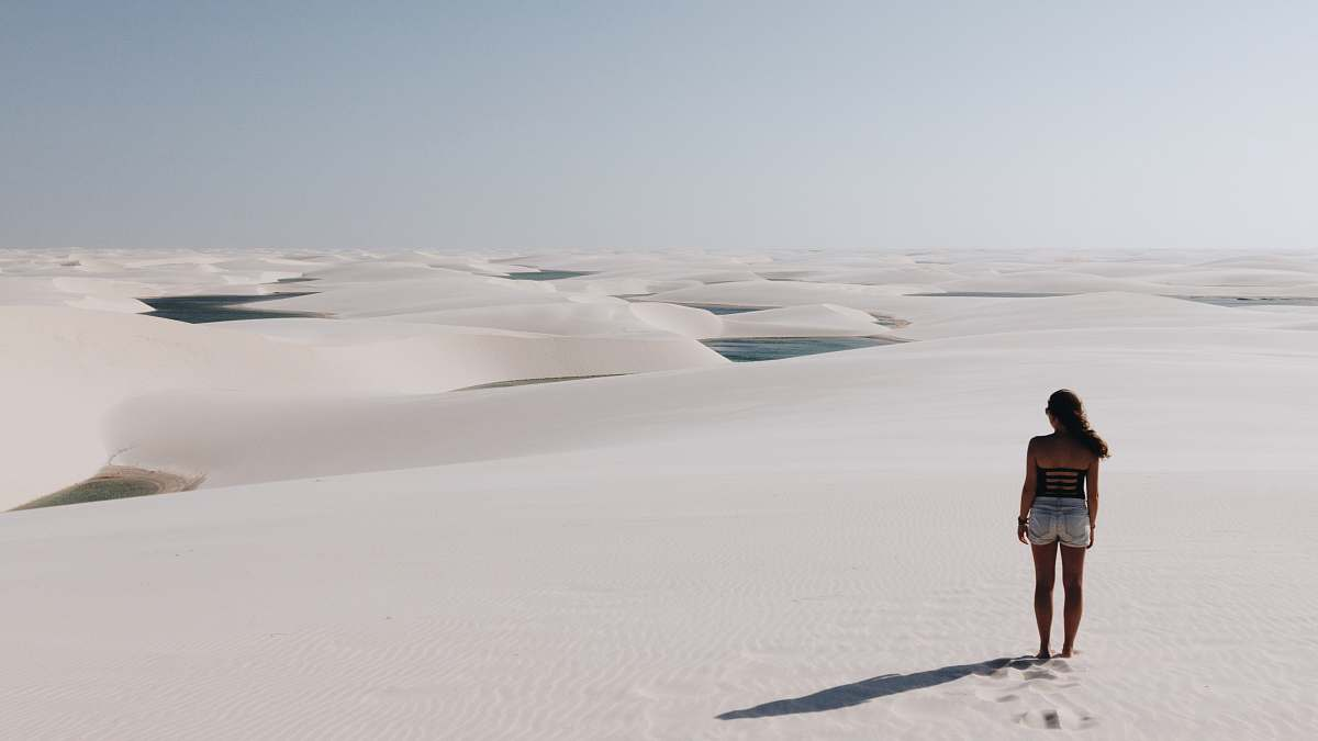 stock photos free  of people woman standing on desert human