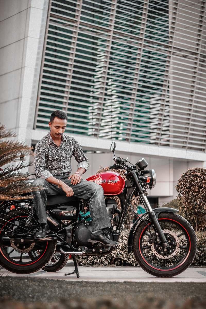 stock photos free  of vehicle man sitting on motorcycle motorcycle
