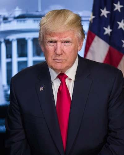 accessory President Donald Trump tie
