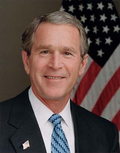 accessory President George W. Bush tie