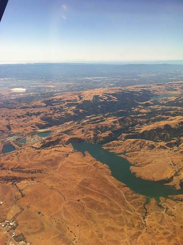 scenery aerial photo of river during daytime outdoors