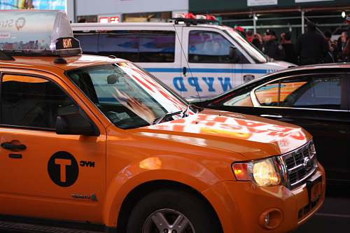 photo car orange car cab free for commercial use images