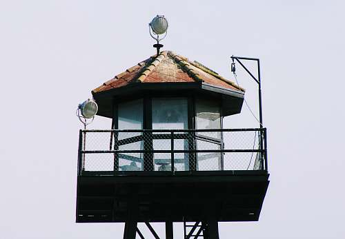 photo alcatraz island Observer tower san francisco free for commercial use images