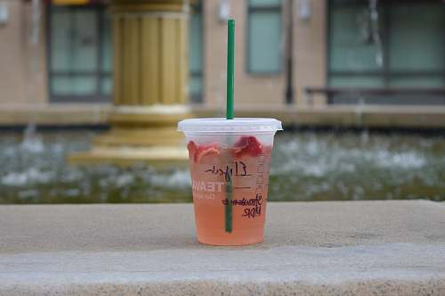 juice clear disposable cup starbucks