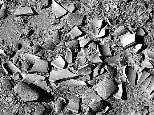 rubble gray sand anza-borrego desert state park