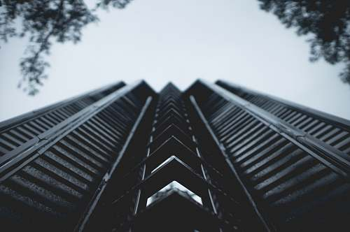 architecture low angle photography of high-rise building thorncrown chapel