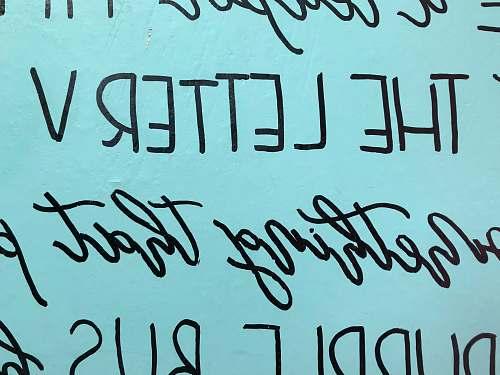 handwriting  text