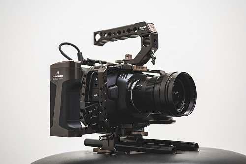 electronics black camera video camera