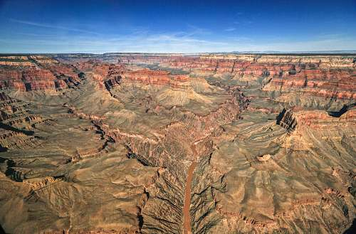 mountain bird's-eye view photography of Grand Canyon. Arizona nature