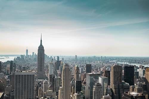 building bird's eye view of New York, USA during daytime new york