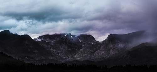 mountain birds eye photography of mountain alps