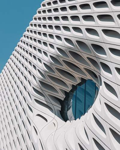 the broad architectural photography of building los angeles