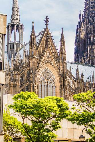 cathedral architectural photography of gothic church church