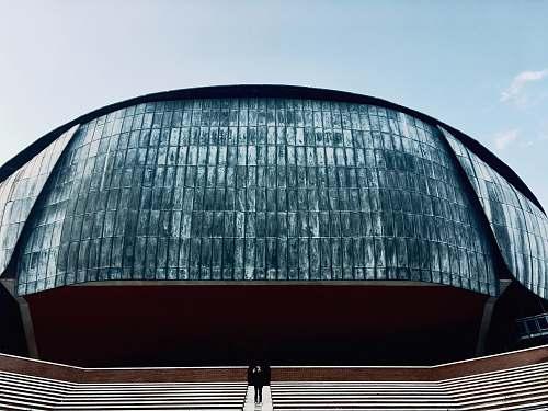 building Auditorium Parco della Musica during daytime planetarium