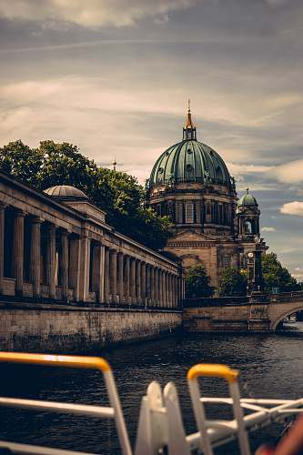building Berlin Cathedral dome