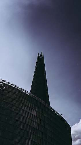 building black building spire