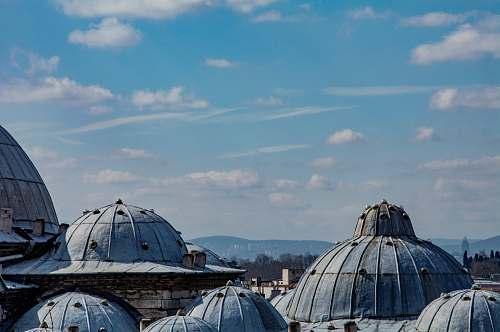 dome blue dome buildings building
