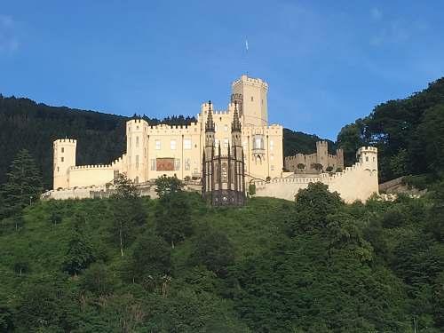 building brown castle castle