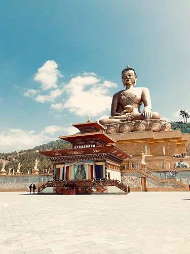 building buddha photography housing