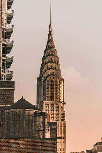 building Chrysler Building, New York spire