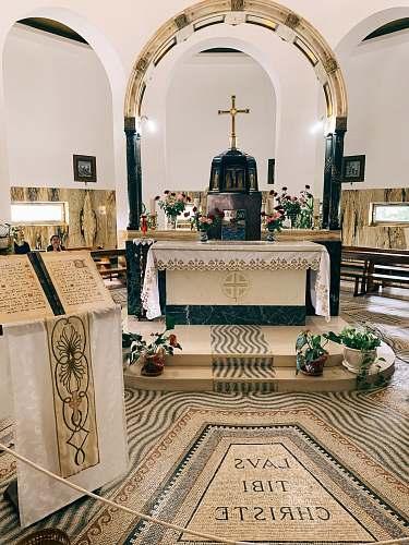 building church interior altar