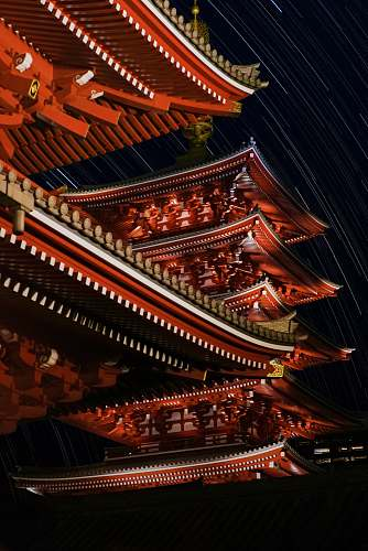 building close-up photography of pagoda pagoda