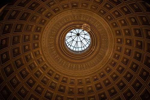 building dome ceiling window